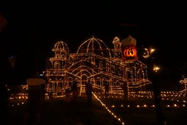 Mengintip Pergelaran Festival Tradisi Lampu Colok 1440 H