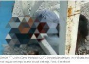 Pekerja Tol Trans Sumatera Ruas Pekanbaru - Dumai Tewas Tertimpa Alat Berat