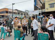 Gubri Bersama Kapolda Riau dan Danrem 031/WB Pantau Penanganan Covid-19 di Dumai