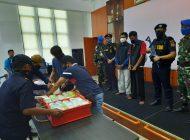 Nyaris Menabrak Kapal Petugas, Bea Cukai Dumai Berhasil Gagalkan Penyelundupan 32 Kg Sabu