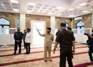 Gubernur Riau, MengApresiasi Kepada Kejaksaan Tinggi Riau Telah Mendirikan Mesjid Yang Megah